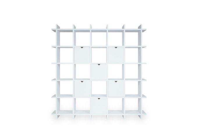 Papercomb   Papierregal   Shelly Shelf Cardboard